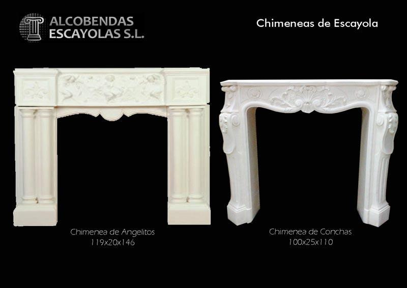 Productos molduras cornisas candileja plantillas for Molduras para chimeneas